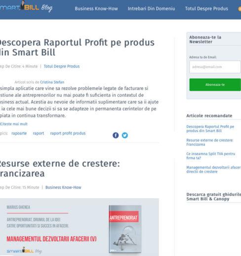 blog smartbill